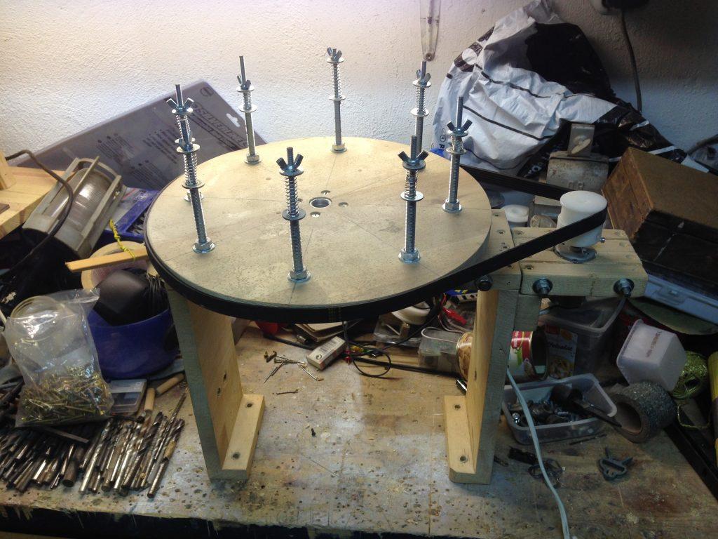 8-coil spinner